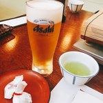 ひろ文 - 生ビールと団子♡