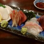 和食や 円 - お造り盛り合わせ
