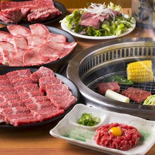 最大120品食べ放題!焼肉一筋のオーナーシェフによる厳選お肉