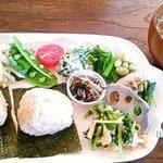 タビラコ - 玄米おにぎりプレート