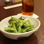 横田屋  - 枝豆 380円