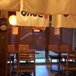 東京下町やきとん もつやきのんき - 店内
