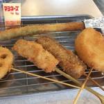 串カツ田中 - 串カツ五本セット