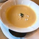 とんかつキッチンむらかみ - ポタージュスープ