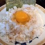 辻商店 - 玉子ごはん(ラーメンだれ かけ)