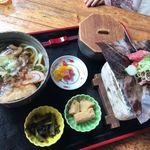 白水園 - 料理写真:★★★☆ ごっつぉ和膳 温かいうどん