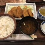 レマン - ひとくちカツ定食 ¥650
