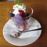 カフェ・ラグラス - ブルーベリーパフェ