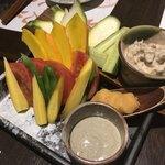 90825765 - 湘南地野菜の盛り合わせ