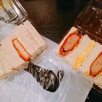 90826243 - えびカツ&ポテトサラダ 660円  メンチカツ&たまご 660円