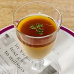 東京イタリア酒場P - とろけるウニの冷製フラン