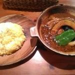 スパイス ポット - 料理写真:【2018/8】豚角煮と野菜〜