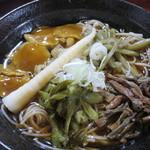 そば処 おおほり - 山菜そば 860円