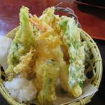 そば処 おおほり - 天ぷら