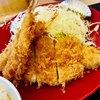 かつや - 料理写真:海老フライロースカツ定食
