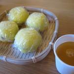 岩井屋菓子店 - 料理写真:あわまんじゅう 1つ110円