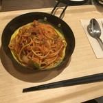 レストプラス ドッグラン&カフェ - ナポリタン(800円)