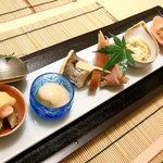 日本料理 桜楽 - <8月夜>前菜