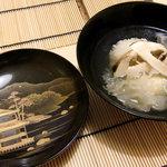 日本料理 桜楽 - <8月夜>きくらげの吸い物