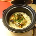 壱 - 鰆と新生姜の炊き込みご飯