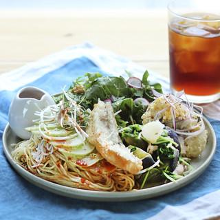 甘鯛と香味野菜の冷やし中華※ランチ時ドリンク付き