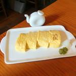 蕎麦切り 旗幟 - 出汁巻き玉子600円