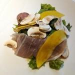レストラン・カワサキ - マスタードリーフ、豚、鹿