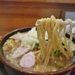 大むら食堂 - 太麺、かため