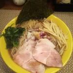 らーめん 惠本将裕 - 煮干ラーメン(醤油)800円+特盛150円