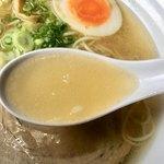 90836645 - 淡麗中華そば スープ