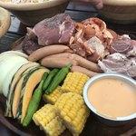 アール・リバーサイドグリル&ビアガーデン - 肉と野菜