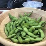 アール・リバーサイドグリル&ビアガーデン - 枝豆