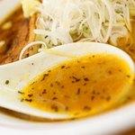 札幌らーめん Tunatori - スープ