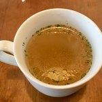90838399 - この「コンソメスープ」も優しい味です!!
