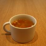 トースティーズ - ランチの夏野菜スープ