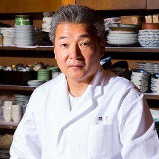 坂川浩和(サカガワヒロカズ)氏―食材と真摯に向き合う