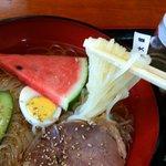 厳美渓レストハウス - 盛岡冷麺アップ