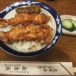 長寿庵 - 並の天丼