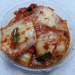 キムチの釜山 - 料理写真:白菜キムチ