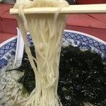 90843325 - 【2018.8.4】にゅうめんの様な極細麺。