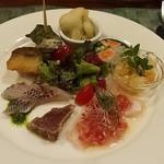 ラ タベルネッタ アッラ チヴィテッリーナ - 旬の前菜盛り合わせ