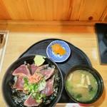 90845150 - 鰹のタタキ丼