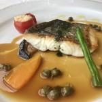 レストラン エメラルド - 鯛のポワレ    身もホワホワです(^O^)