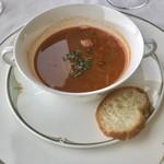 レストラン エメラルド - 甲殻類のスープは、旨味がギュッと❤️