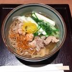 鳥焼き・蕎麦・おでん 一重 - 鶏南蛮蕎麦 734円(税込)