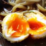 古蝶庵 - 半熟の玉子天〜〜♡♡ カレーに混ざるとますます美味い♪