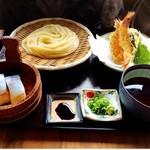 古蝶庵 - ママンの鯖寿司セット!