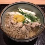 鳥焼き・蕎麦・おでん 一重 - 鳥南蛮蕎麦 734円