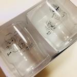ソワレ - お土産に買ったグラス