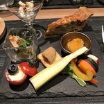 創作料理とワインのお店 上田 慎一郎 - 前菜7種盛り合わせ